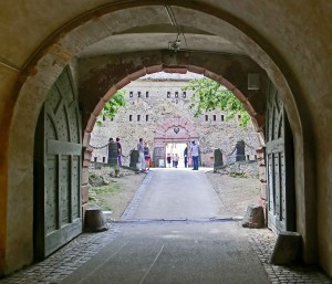 Passageway under Fortress
