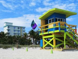 Miami South Beach: Art Deco coloury