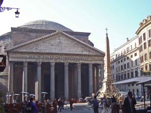 Piazza della Rotunda and the Panthenon