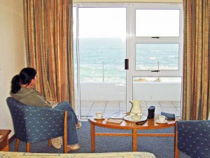 Whale watching at The Point Hotel