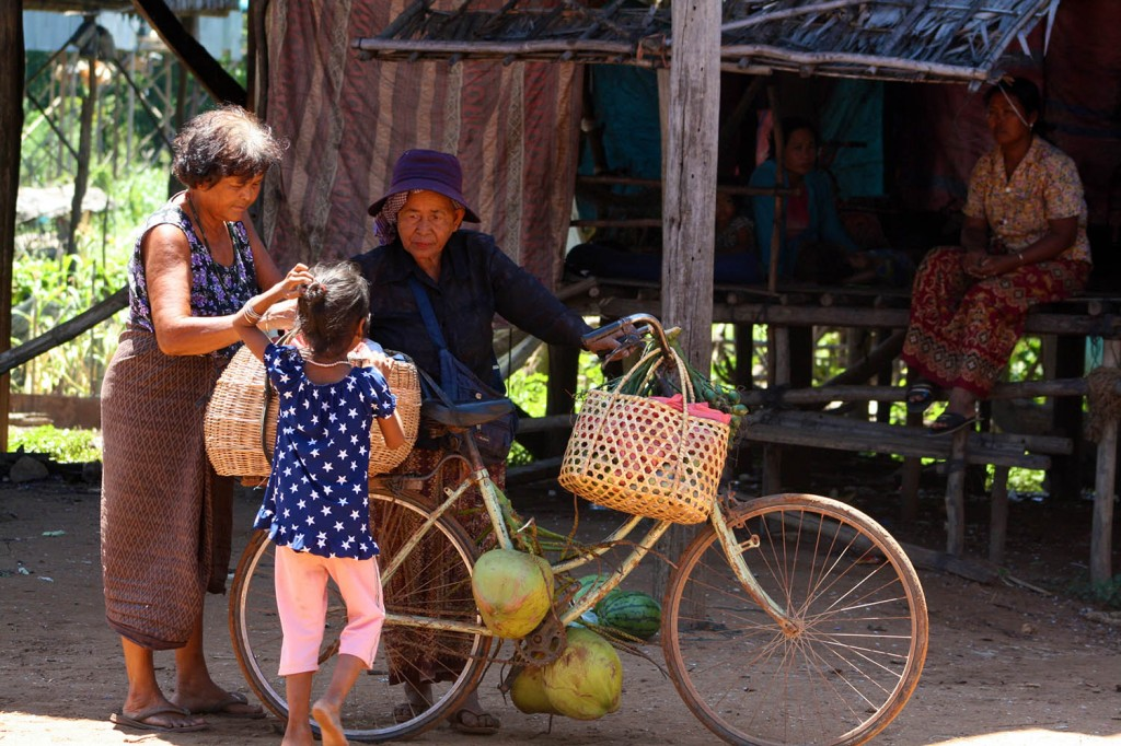 Heritage Photo Competition - Local food vendor in village in Cambodia