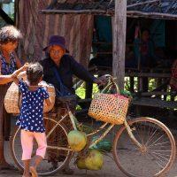 Heritage Photo Competition - Local food vendor in village in Cambodia