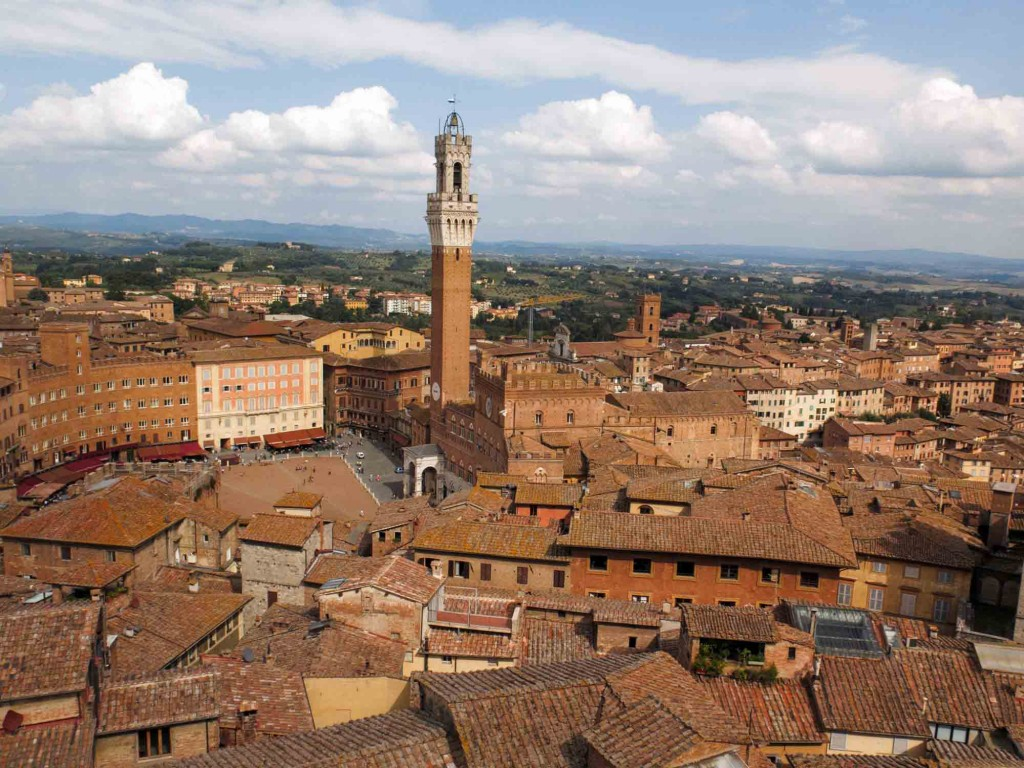 Campo and Torre del Mangia, Siena