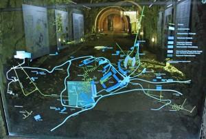 Network of WW II bunkers