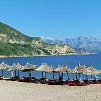 Jaz Beach on the Budva Riviera
