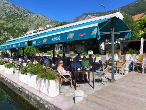 Budva - Hipnos Restaurant on the Bay of Kotor