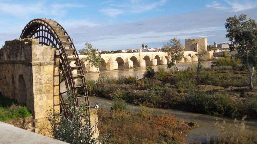 Cordoba, Roman Bridge and Restored Islamic Water Wheel
