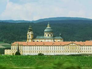 Benedictine Monastery in Melk, Austria