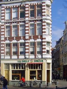 Nieuwmarkt District of Amsterdam