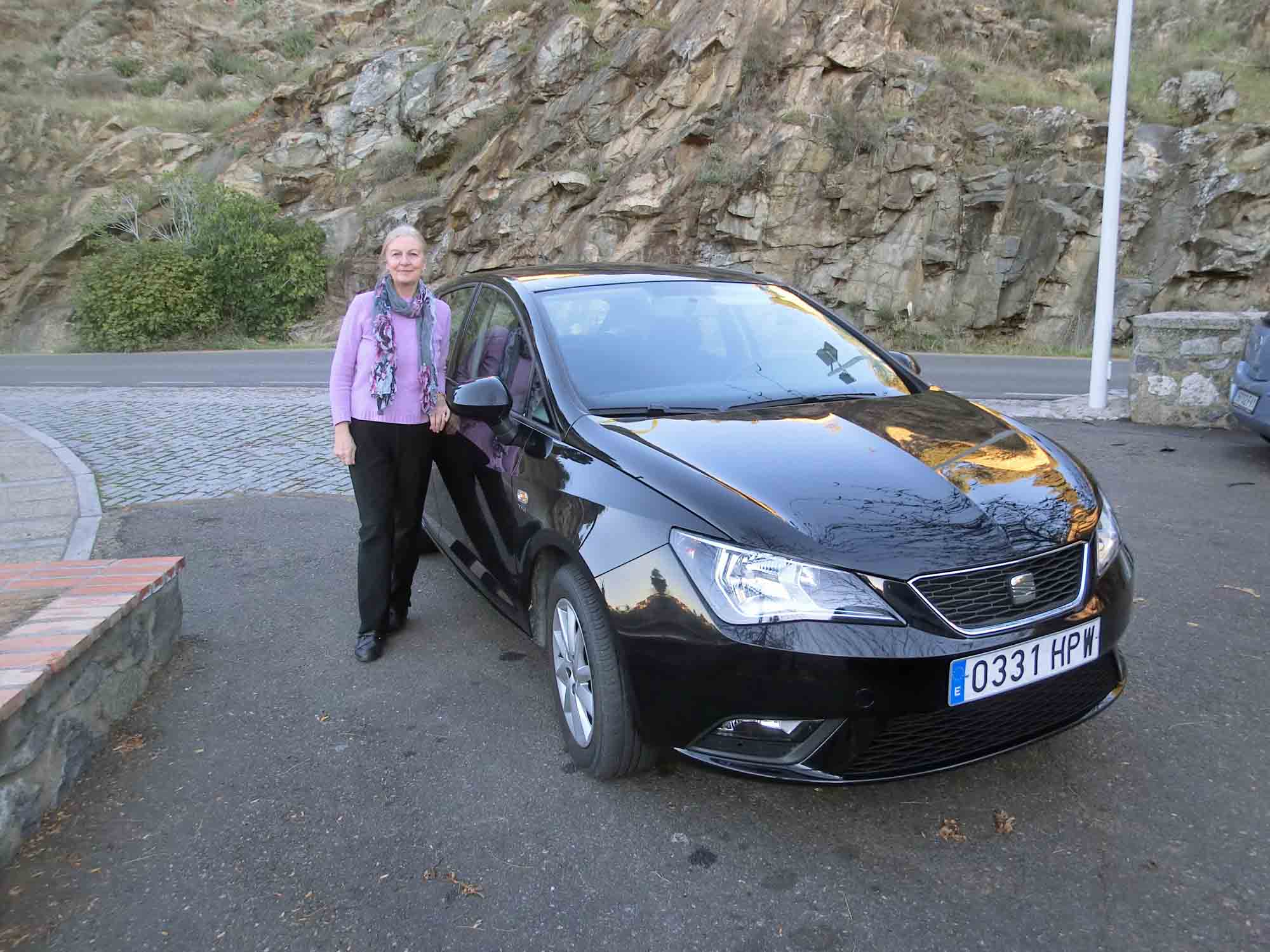 Our Seat Ibiza Hire Car in Andalusia