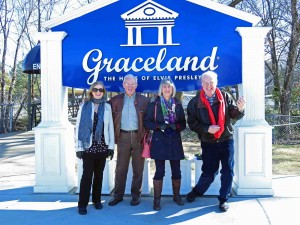 Memphis Entrance to Graceland