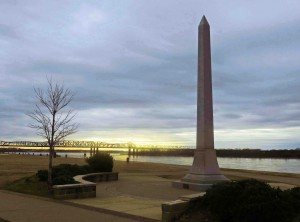 Dusk by the Mississippi