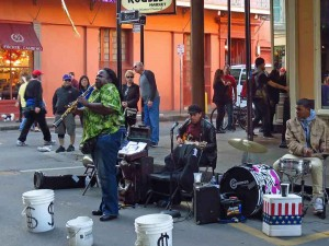 Jazz Band in Royal Street