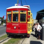 Streetcar by the Botanical Garden