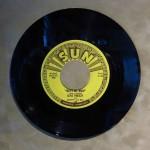 Elvis's first recording