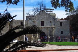 The Church at the Alamo - Crockett Hotel