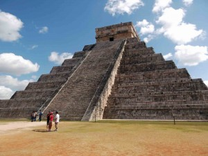 Mayan Temple at Chichen Itzma