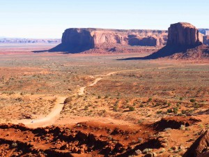 Start of the Monument Valley Scenic Drive
