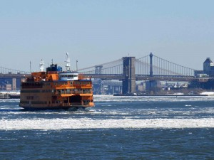 Staten Island Ferry and Brooklyn Bridge