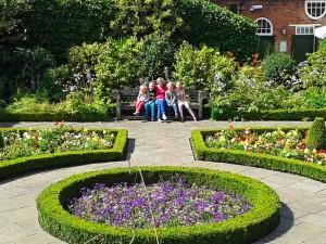 The Author in Castlecroft Gardens