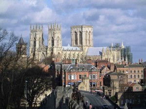 York: The Minster is always within sight