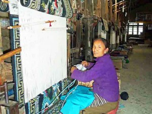Traditional Carpet Weaving at the Tibetan Refugee Centre