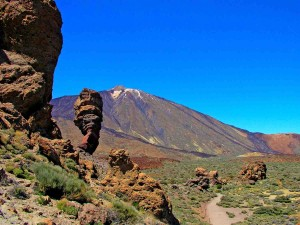 Dramatic Scenery in Mt Teide National Park