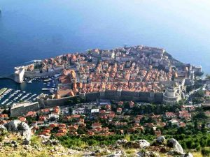 Dubrovnik from Srd Hill
