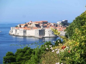 Dubrovnik Old Town from the Coastal Road