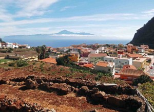 Mt Teide Viewed from Agulo, La Gomera