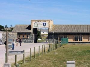 Penguin Walk entrance to Robben Island prison