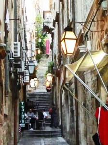 Narrow Alleyways Away from the Tourist Routes