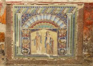 Wall Mosaic of Neptune and Salacia