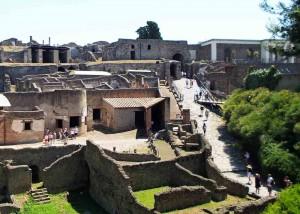 Porta Marina Entrance to the Pompeii Site