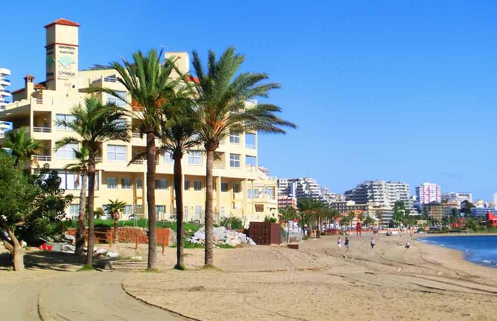Car Hire Excess Insurance - Beach South of Malaga, Spain