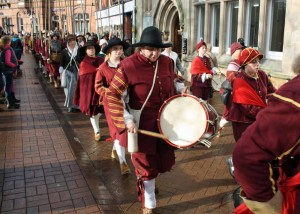 Commemorating the Battle of Nantwich