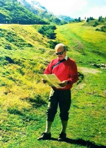 My Husband near Obergurgl