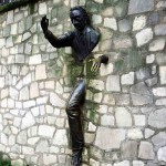 Man through the Wall