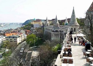Fisherman's Bastion on Castle Hill
