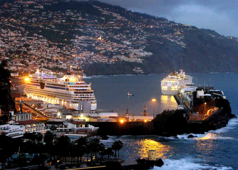 Thomson Cruises - Cruise Boats in Harbour