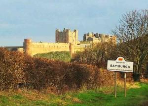 Northumberland: Bamburgh Castle