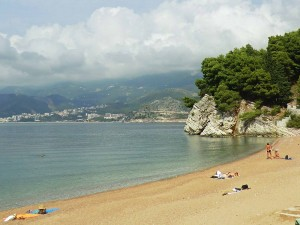 Beach holiday in Montenegro