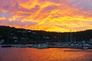 Sunset Port de Soller