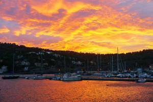 Sunset Port de Soller