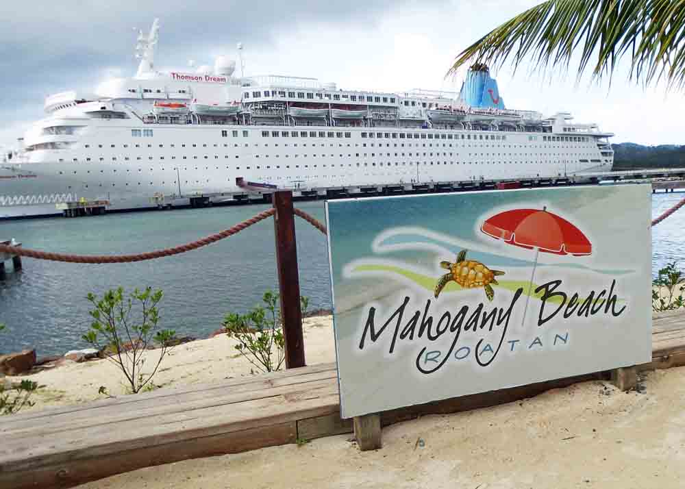 Taking a cruise in the Caribbean