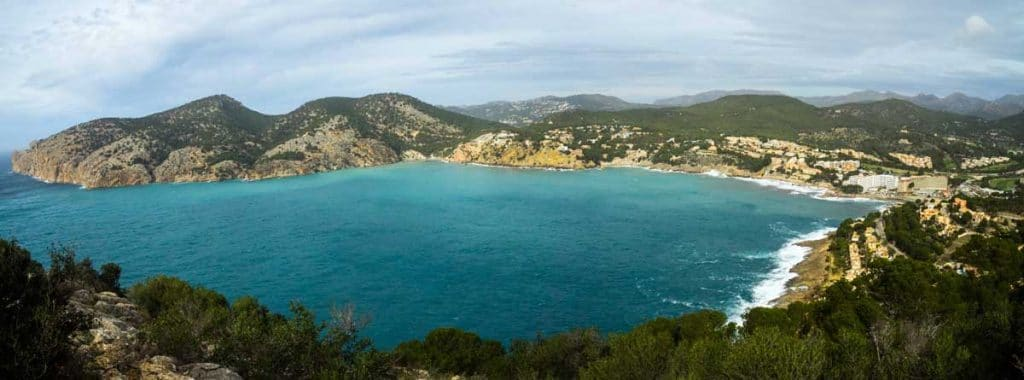 View over Camp de Mar