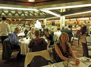 Waiter service restaurant