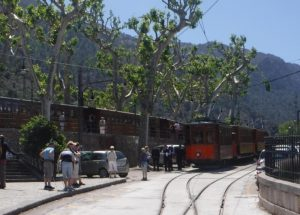 Ancient tram to Port de Soller