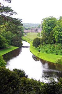 River Kell at Fountains Abbey
