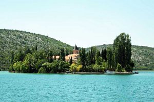 Visovac Island in Krka National Park
